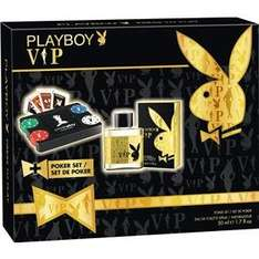 [lokal Geseke SB-Center] Playboy VIP men EDT 50 ml plus Pokerset
