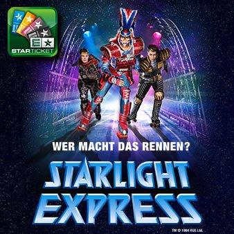 STARLIGHT EXPRESS Tickets für nur 27,00€ (Otto / Ticketmaster.de)