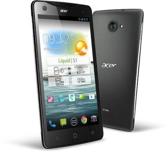 [nbb.de] Acer Liquid S1 Dual-SIM Android (weißes / schwarzes Backcover) für 155€ - 20% unter Idealo