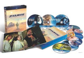 Star Wars: The Complete Saga I-VI (Blu-ray) für 59€ (mit NL-Gutschein 54€) @saturn.de