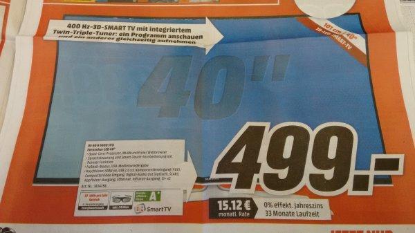 """*MM Weiterstadt* Samsung 40"""" H6600 - sehr guter LED TV derzeit sehr günstig"""