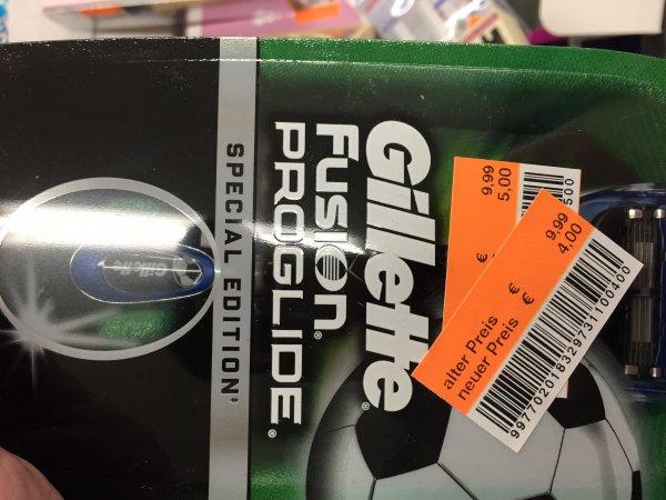 Gillette Fusion ProGlide Fussball Edition Rasierer Lokal krefled Oppum