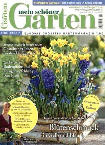 Mein schöner Garten Halbjahresabonnement für 24€ inkl. 20€ Universalgutschein