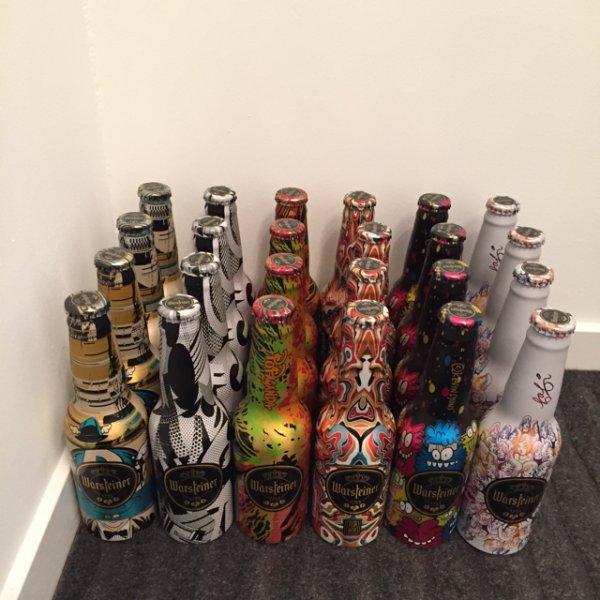 [Lokal] Famila *Ahrensburg* Warsteiner 0,33l Alu Flasche in verschiedenen Farben