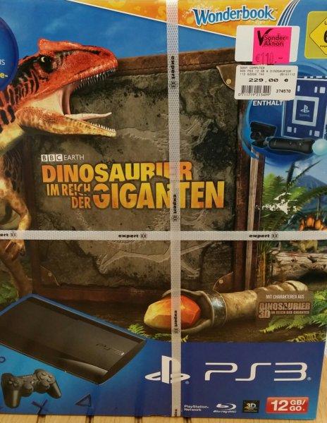 [Lokal] Sony PS3 12 GB inkl. Dinosaurier im Reich der Giganten 12 GB