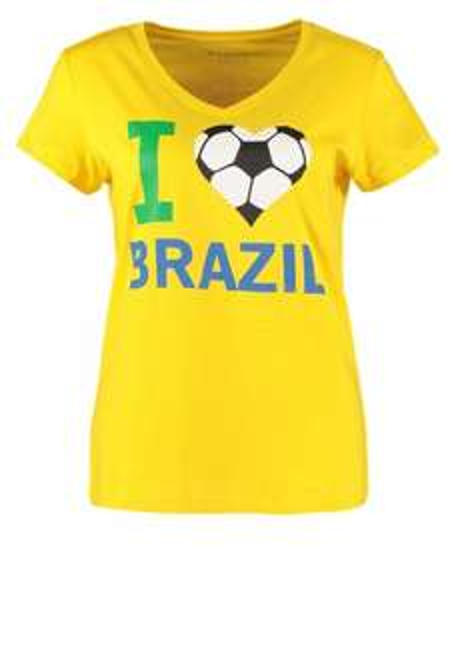 T-Shirt I love Brazil, Zalando