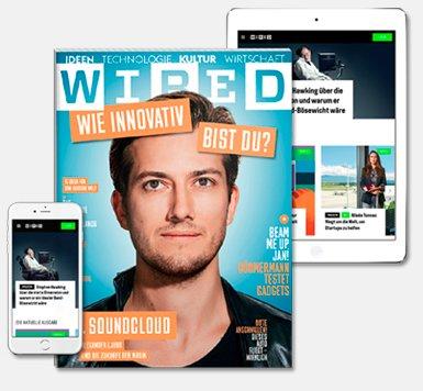 1 Jahr WIRED effektiv kostenlos lesen (45€ - 5€Gutschein - 40€Gutschein = 0€)
