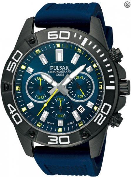 [Amazon.de] Pulsar by Seiko PT3309X1 Herren Edelstahl-Chronograph mit Titankarbidlünette und Silikonarmaband für 64,69€ incl.Versand!