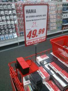 [Berlin Linden Center Mediamarkt ] HAMA BT-Stereolautsprecher Rock
