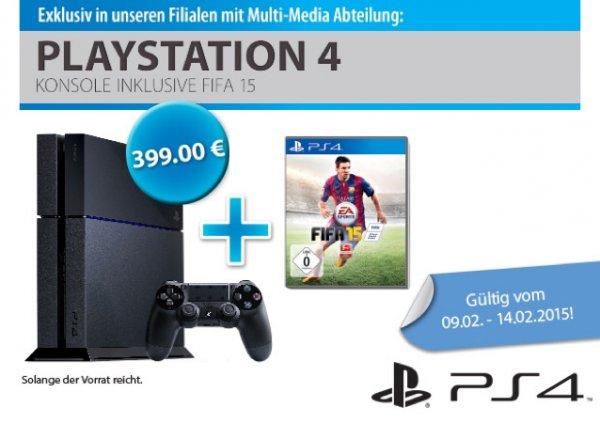 [Müller] PlayStation 4 + FIFA 15