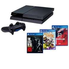 PlayStation 4 + Drive Club + Little Big Planet 3 + The Last of us