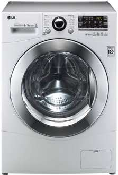 LG F14A8RD Waschtrockner / AA / Waschen: 9 kg / Trocknen: 6 kg / Startzeitvorwahl / Beladungserkennung / Aqua Lock-Vollwasserschutzsystem [Energieklasse A] für 639,00€