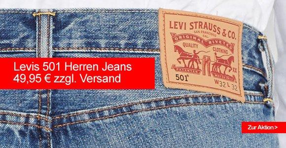 Levis 501 Herren Jeans (00501-1925) für nur 49,95 €? (+ Versandkosten)