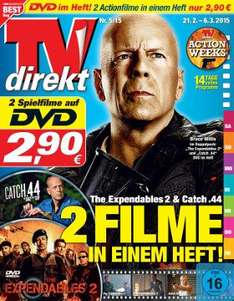 "[TVdirekt] The Expendables 2"" + ""Catch .44"" DVD"