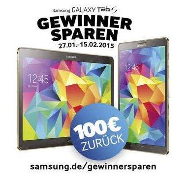 [Conrad] Samsung Galaxy Tab S 8.4 Zoll 16 GB WiFi Weiß - 199€ dank Cashback