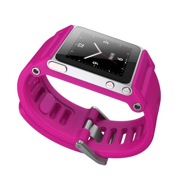[Amazon - Prime]  TikTok Uhrenarmband für iPod Nano für 7,99 Euro mit Prime, Ohne Prime 10,99 Euro, Farbe: Magenta oder Gelb