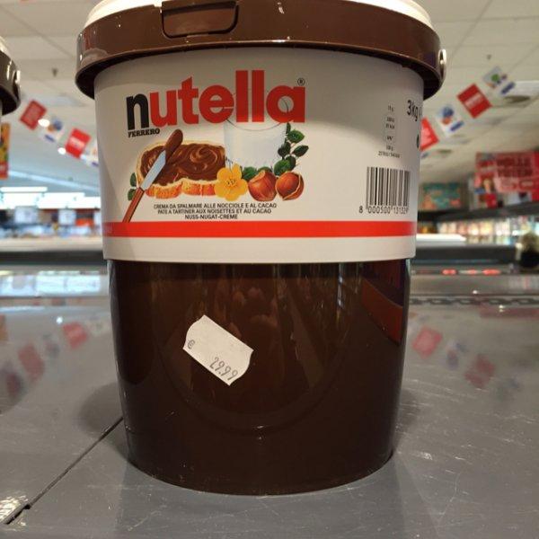 3 kg Nutella offline Rewe Hamburg Harburg