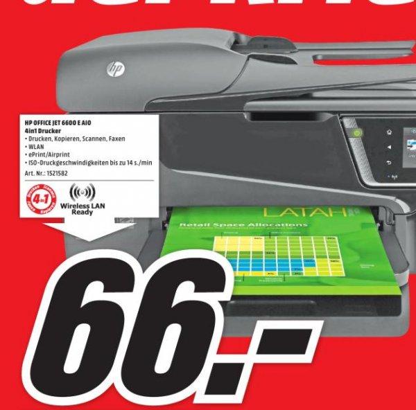 (Lokal Mediamarkt) HP Officejet 6600 für 66€