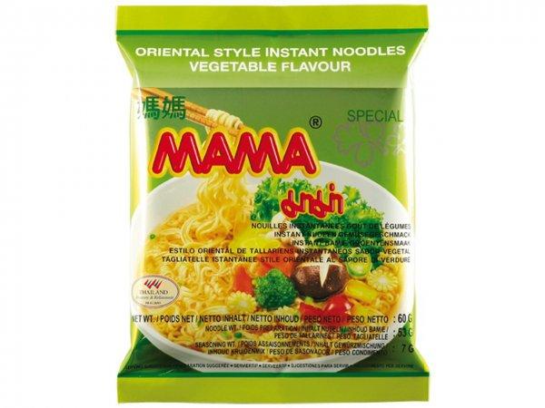 Amazon Prime : Mama Instant Nudeln Gemüse 60g, 45er Pack (45 x 60 g) Nur 12,20 €