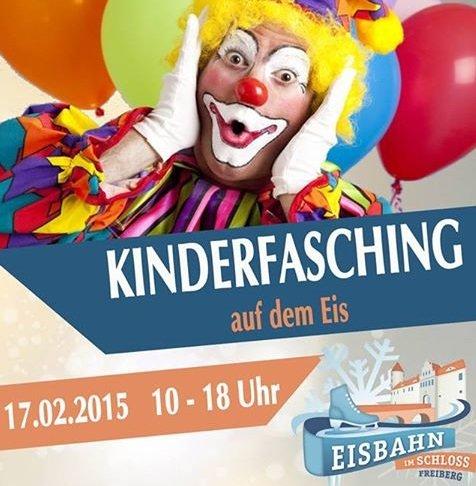 [Lokal Freiberg - Eisbahn im Schloss] Am Faschingsdienstag GRATIS Heiße Schokolade für kostümierte Kinder bis 14 Jahre