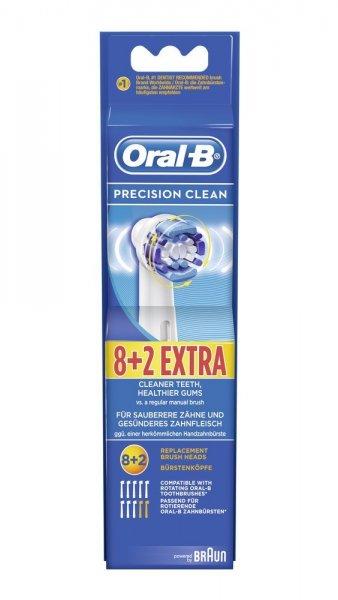 [real] Braun Oral-B Precision Clean Aufsteckbürsten, 8er Pack +2 für 19,99€
