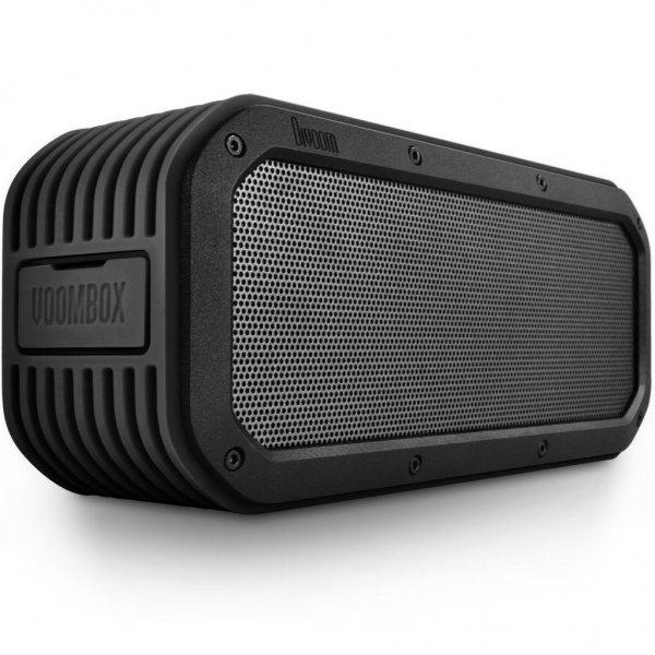 Divoom Voombox Outdoor, portabler Bluetooth Lautsprecher, spritzwasser- und staubgeschützt mit 15 Watt, NFC, Telefonfunktion in schwarz und grün für 39,99€ frei Haus @DC