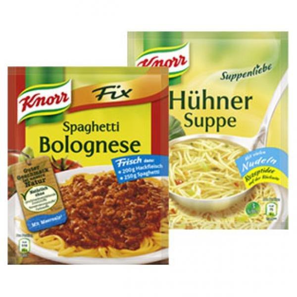 [REAL] KW08: 10x Knorr Fix bzw. Suppenliebe alle Sorten für 0,39€/Stück (16.02.-21.02.2015)