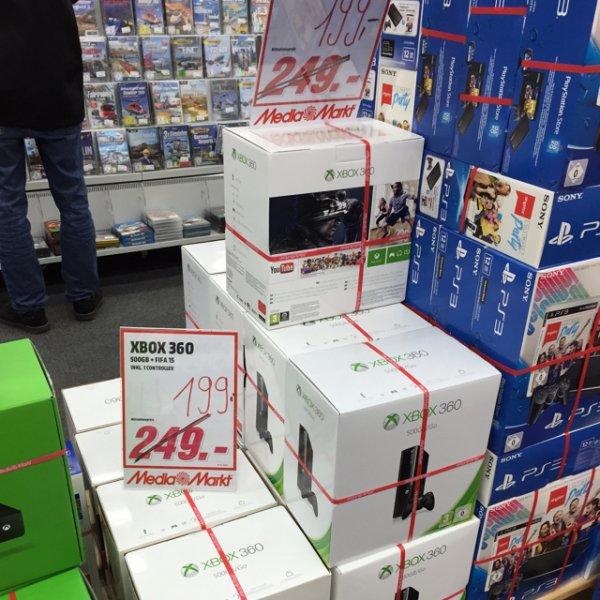 [MM Bonn] XBOX 360 500 GB + Fifa 15