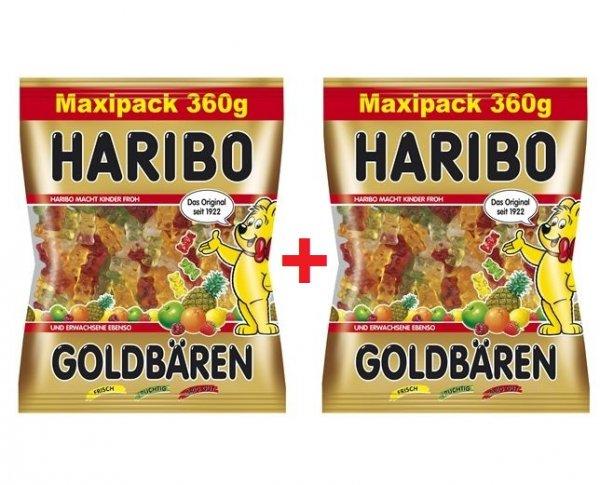 [GLOBUS BOBENHEIM/HOCKENHEIM] 2x Haribo Maxipack 360g (720g) für 0,31€/100g