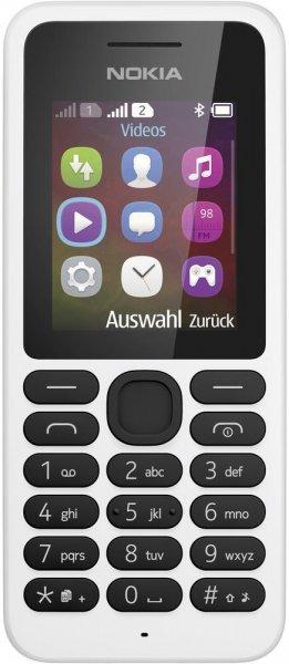 Nokia 130 Dual-SIM weiß für 21,66|| Schwarz für 22,49