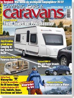 2 Ausgaben GRATIS von Camping, Cars & Caravans lesen – für Wohnwagen-Fahrer