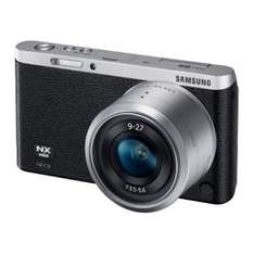 Samsung NX mini + 9-27mm schwarz + Adobe Photoshop Lightroom 5 für 222 Euro