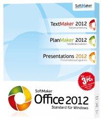 SoftMaker Office Standard 2012 (3 PCs) inkl. Handschriften-Paket Gratis (4,90€ Versandkosten)