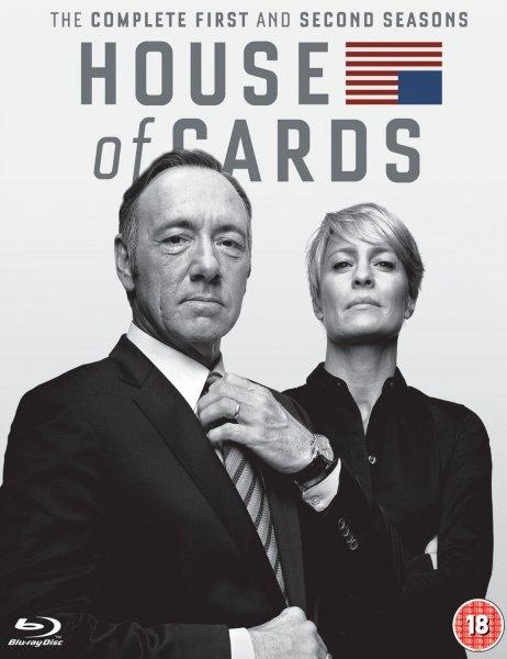 House of Cards - Staffel 1-2 [Blu-ray] (8 Discs) inkl.Vsk für 36,85 € > [amazon.es]