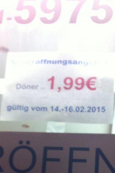 [Lokal Bremen] Döner für 1,99 €