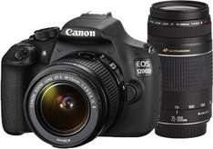 Saturn.de CANON EOS 1200D+18-55mm+75-300mm 399€