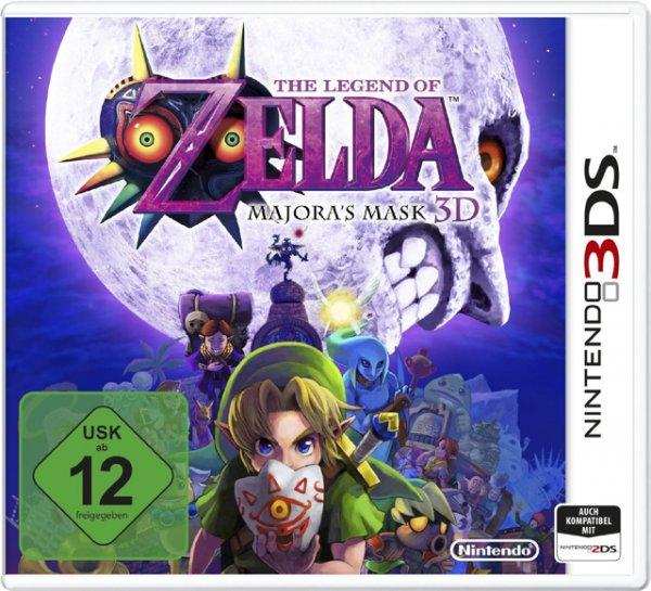 Zelda Majoras Mask 3DS Voelkner