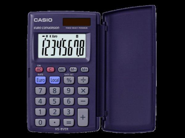 [Saturn.de]Casio HS-8VER einfacher Taschenrechner für 4€| Vergleichspreis 7,58| Ersparnis 47%