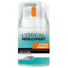 (AMAZON PRIME) L'Oréal Paris Men Expert Hydra Energy Kühlendes Feuchtigkeits-Gel Anti-Glanz, 50 ml