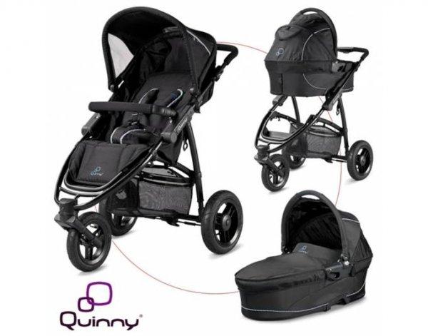 Quinny Speedi Pack inkl. Kinderwagenaufsatz Buggy Black, 300,99 EUR @ meinpaket