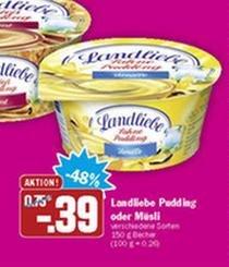 3 x Landliebe Grießpudding für 0,67 €