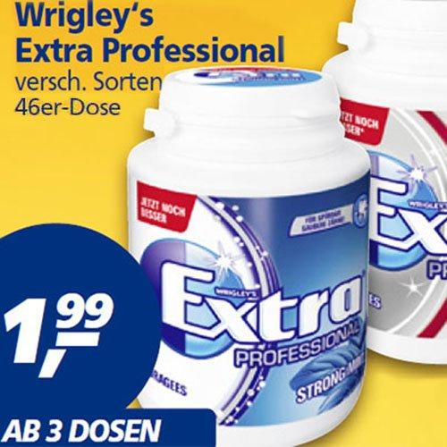 """Wrigley's Extra Kaugummi ab 3 Dosen für nur 1,99€ ab nächsten Mo 23.02. [Real] Auch die M&M's in der """"Großen"""" 300g/255g für 1,99€ ab 3 Beutel sind interessant!"""