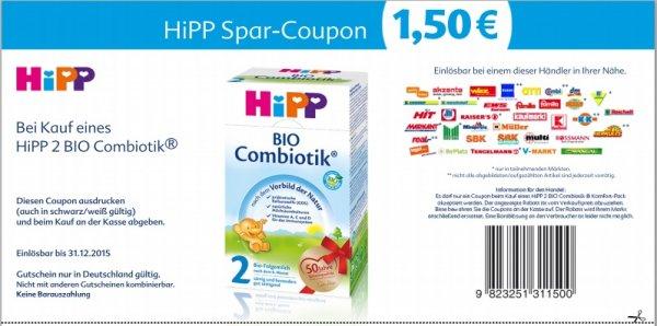 [E-Center] Hipp Bio Combiotik nur 5,49€
