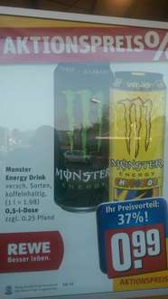 Monster Energy 0,99€ [REWE]