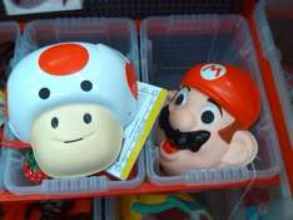 Mario Masken für 1 € @offline beim Euroshop