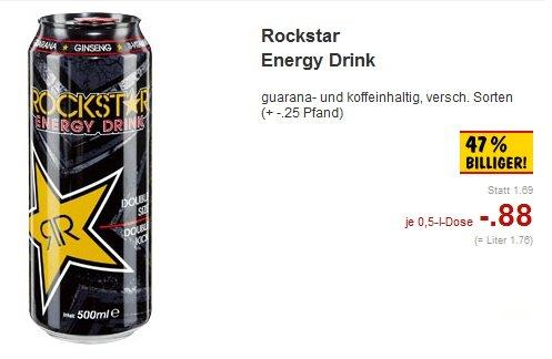 [Kaufland NRW] Rockstar Energy Drink versch. Sorten für 0,88€ bei Kaufland 16.02. bis 21.02.2015