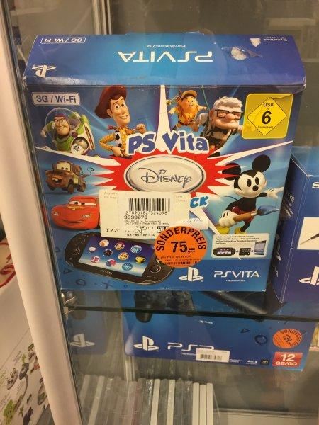 (Lokal) MyToys.de Outlet Konsolen - PS VITA Disney Mega Pack 75 Euro, Nintendo 2DS 90 Euro uvm