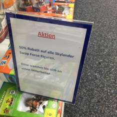 [Lokal Saturn LB] 50% auf Skylander Swap Force Figuren