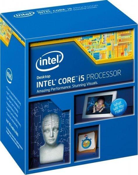 Intel CPUs - i5-4400 für 173,77€, i5-4460 für 176,56€, i5-4590 für 192,37€ & Xeon E3-1231v3 für 242,68€ - Alternate/MeinPaket