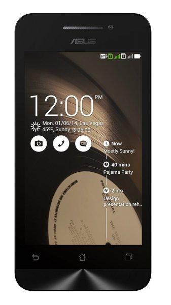 Asus ZenFone 4 schwarz für 97,36 € @Amazon.it